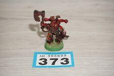 Warhammer 40k Chaos Space Marine Khorne Champion Metal LOT 373