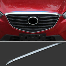 For Mazda Cx-5 2012-2016 Chrome Front Hood Bonnet Grille Lip Cover Trim Molding