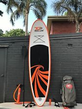 Super Strong Double Layer Inflatable SUP Surfboard 10' with Paddle and Pump