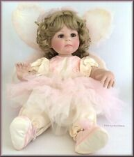 Marie Osmond Peaceable Becoming Butterflies Doll Porcelain 12 Inches Free Ship