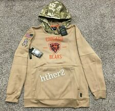 AUTHENTIC Nike 2019 Chicago Bears Salute to Service Hoodie All Sizes STS