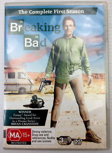 Breaking Bad First Series PAL R4 MA15+, with Tracking.