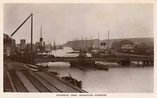 Birdseye View Newhaven Harbour RP pc used 1912 Arrow Series