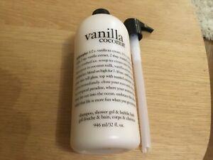 Philosophy 3 in 1 'Vanilla Coconut' supersize 946 ml