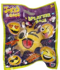Emoji Splatter Face Ball Smiley Squishy Toy Christmas Party Bag Stocking Fillers