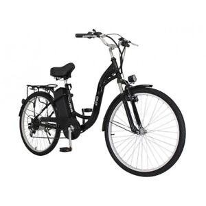 "IONEO 26"" City Electric Bike 250W Motor E-Bike 36V13AH Shimano 7 Speed"
