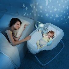 Rocking Baby Sleeper Bassinet Cradle born Infant Crib Bed Nursery Basket Star