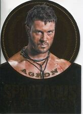 Spartacus Vengeance Die Cut Gold Plaque Chase Card GV3
