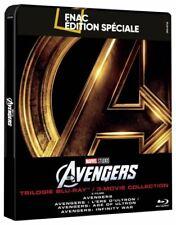 Avengers Coffret Steelbook Trilogie Edition Spéciale Fnac Blu-ray