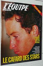 EQUIPE MAGAZINE 306 1986 SPECIAL SKI GIRARDELLI HIMALAYA TENNIS VOLLEY FABIANI