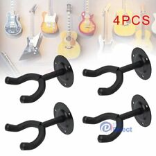 4 x Wall Hangers foam padded hook Mount Holder For Electric Acoustic Bass Guitar