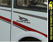 Jayco style CARAVAN RV STICKER DECAL CUSTOM NAMES sticker