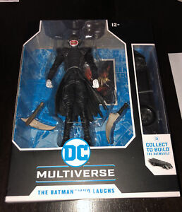 "McFarlane Toys DC Multiverse Batman Who Laughs 7""Action Figure CTB The Batmobile"