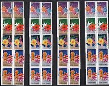 COOK ISLANDS MNH 1979 SG659-74 Christmas Blocks of 4 Set
