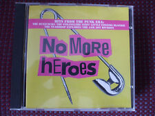 VA - No More Heroes CD.Stranglers,Buzzcocks,Ruts,Jam,999,Skids,Bow Wow Wow.VGC.