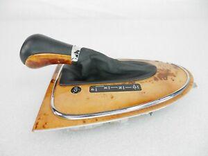 07-09 Mercedes W211 E350 Floor Gear Shift Shifter Selector Indicator Knob Wood