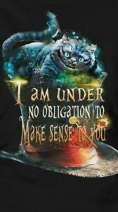 ALICE IN WONDERLAND Inspirational Quote A4 Card Picture Poster Chic Art Unframed