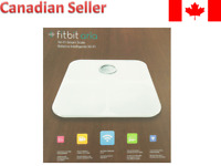 Fitbit Aria Wi-Fi Bluetooth Smart Scale White FB201W-CAN BRAND NEW SEALED