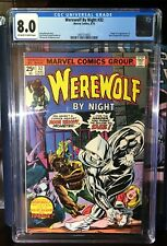 Werewolf by Night # 32 *CGC 8.0* First appearance of Moon Knight!
