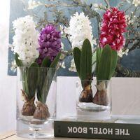 1 stücke Künstliche Blumen Hyazinthe mit Birne Hausgarten Hochzeit Dekoration