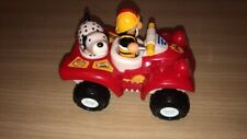 WOW Toys Fire Buggy Bertie quad bike, fireman Kurt and dog Russell figures