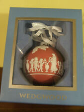 Wedgwood Jasperware Relief Red Ornament Neo Classical Design New In Box