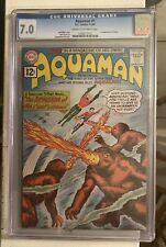 AQUAMAN #1 D.C. COMICS, 1-2/62 CREAM TO OFF WHITE CGC 7
