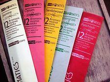 One Aromatics Fair Trade Incense Sticks - 5 Fragrances Handmade in India Vegan