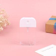 45ML Card Shape Perfume Spray Refillable Empty Bottle Flat Type Atomize~