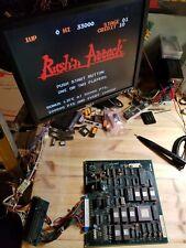 RUSH N' ATTACK PCB JAMMA ARCADE MAIN BOARD REVISION WORKING!!!!!! KONAMI
