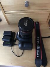 Canon EOS 5D Mark II DSLR Camera & Canon Zoom Lens 24-105mm
