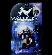 """WARRIORS OF VIRTUE Action Figure GRILLO Play'em 6"""" 71007"""