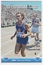2018 Steve Prefontaine Classic Track Field Program Hayward Field Eugene Oregon