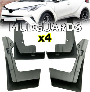 OE Styled Mud Flaps For Toyota C-HR 2017 2018 2019 Splash Guards Dirt Board CHR
