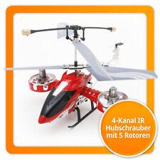 4-Kanal IR Gyro Hubschrauber mit 5 Rotoren Infrarot RC Helikopter RTF