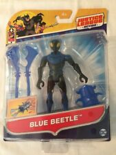 "DC Justice League Action BLUE BEETLE 4.5"" Figure & Power Connects Accessories"