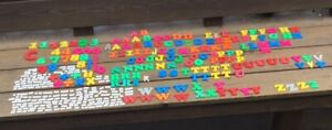 Magnetic Letters, Numbers & Words Assorted 350 Pieces
