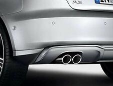 NEU Sport Endrohr Blenden Satz Audi A3 8V Original Blende Auspuff Tuning Chrom