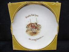 Lasting Memories Genuine Porcelain Plate Hearts That Love Are Young Forever