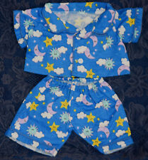"""Teddy Bear FLANNEL PJs CLOTHES Fit 14""""-18"""" Build-a-bear !! NEW !! FREE SHIPPING"""