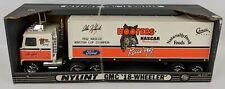 Vintage 1992 NYLINT Pressed Steel ALAN KULWICKI 'Hooters' GMC Semi Truck, NEW!