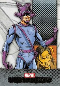 CHANGELING / Marvel Beginnings Series 1 BASE Trading Card #43