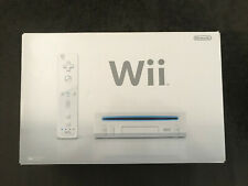 BRAND NEW Nintendo Wii Console White Complete In Box NEVER USED Fast Shipping!