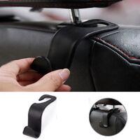 Universal Car Auto Back Seat Hook Hanger Bag Coat Organizer Plastic Holder Black
