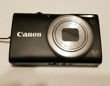 Canon PowerShot A4000 IS 16.0MP Digital Camera - Black 025