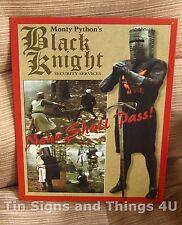Black Knight Holy Grail TIN SIGN funny metal poster monty python bar decor 870