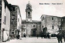 * MASSA MARTANA ( PG ) : Piazza Umberto I° *  ( RIPROD.FOTO D'EPOCA)