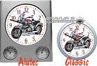 Orologio da parete con disegno: BMW MOTO MOTOCICLISTA motivo motociclette