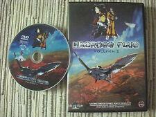 DVD MANGA PELICULA MACROSS PLUS VOLUMEN 2 DE 2 USADO BUEN ESTADO