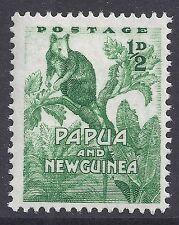 1952-1958 PAPUA NEW GUINEA ½d GREEN FINE MINT MUH/MNH
